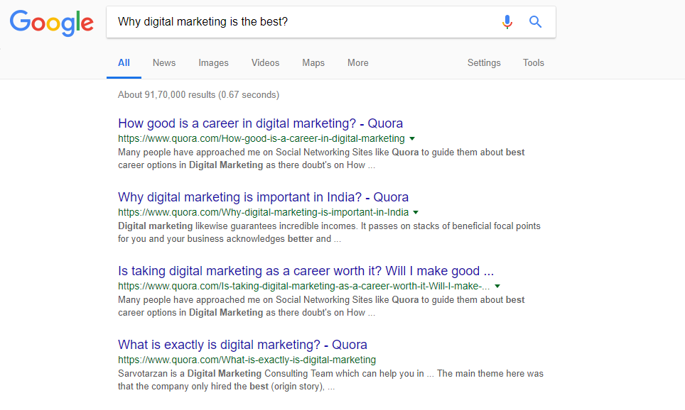 How a Q&A Platform Like Quora Can Become Your Sure Shot